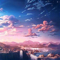 Background for Eden the Server Loli